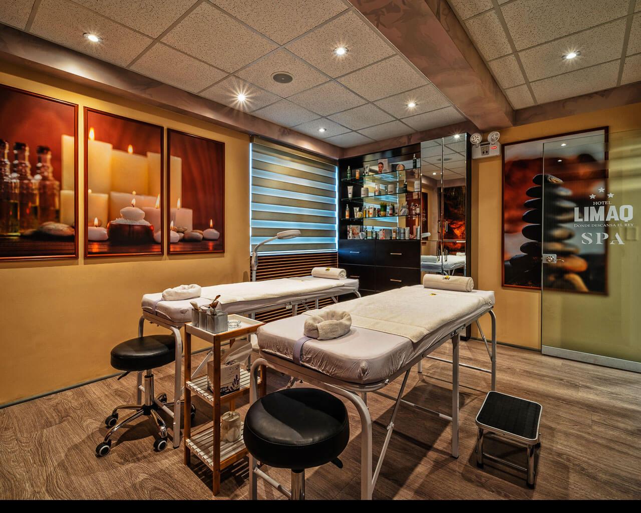 centro de spa para tratamiento corporal