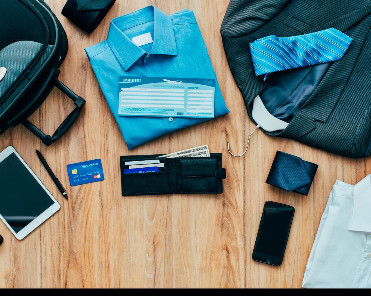 El equipaje ideal para un viaje de negocios