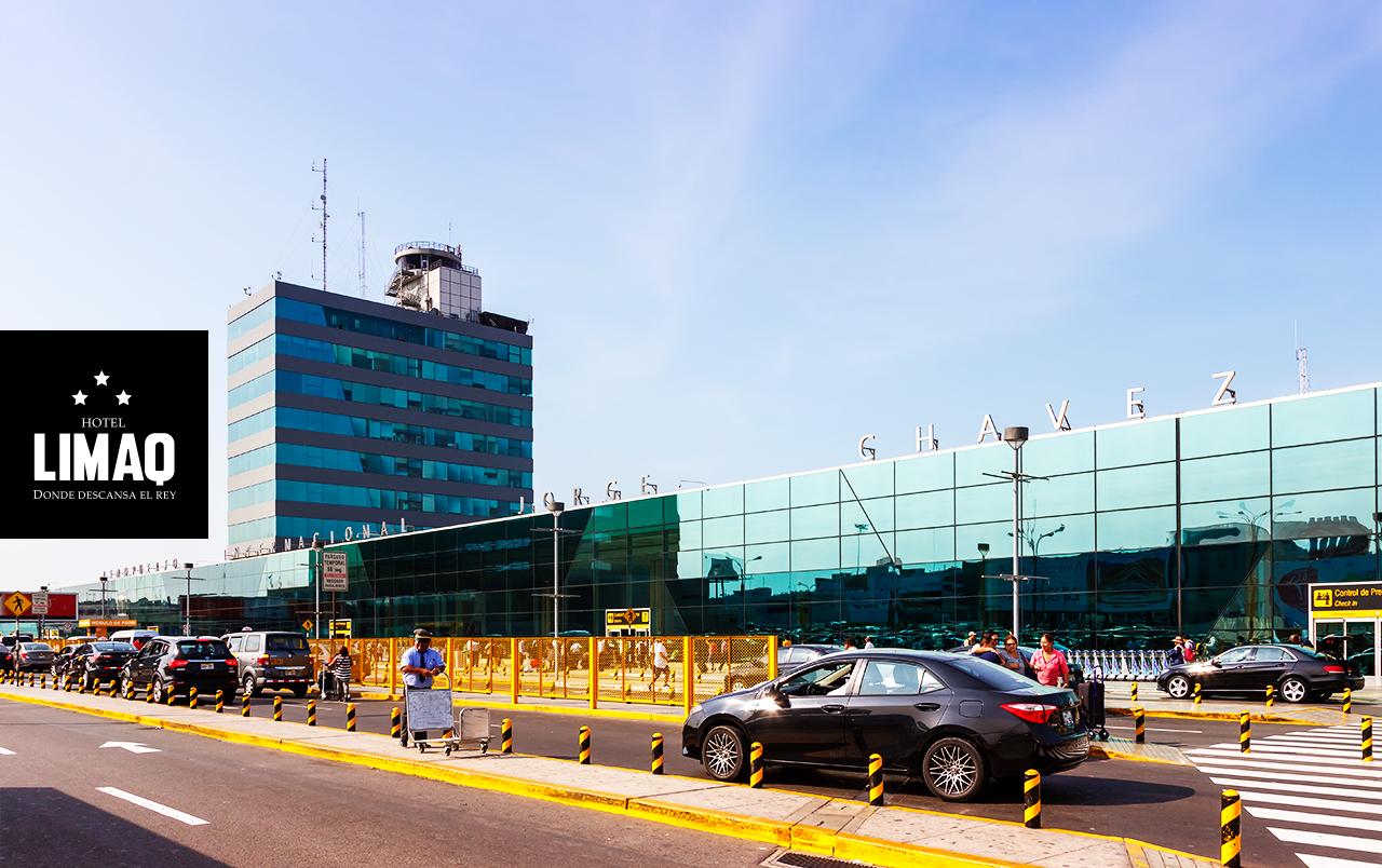 Ahorra tiempo y dinero al hospedarte en hoteles cerca al aeropuerto