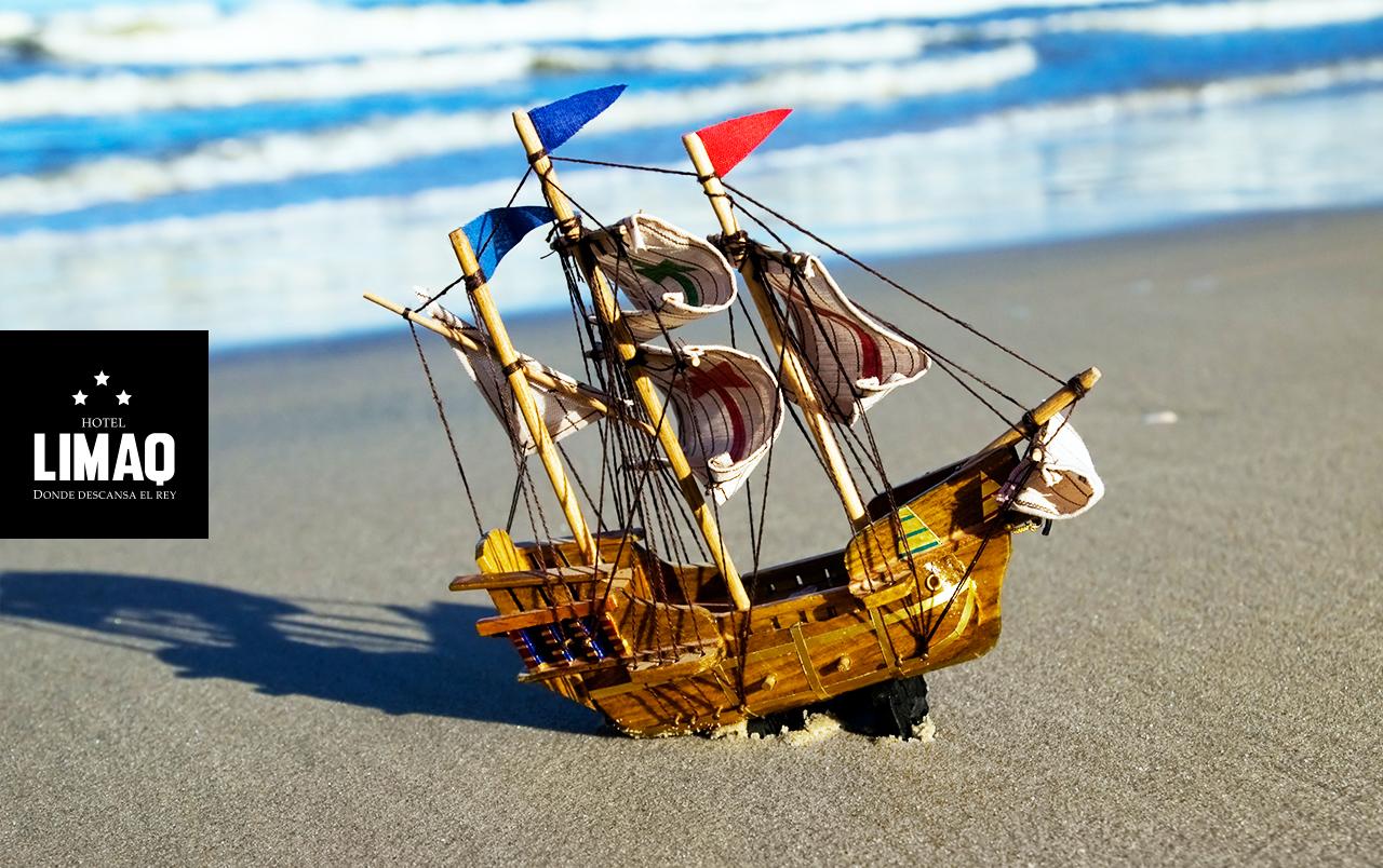 piratas llegaron hasta las costas del callao